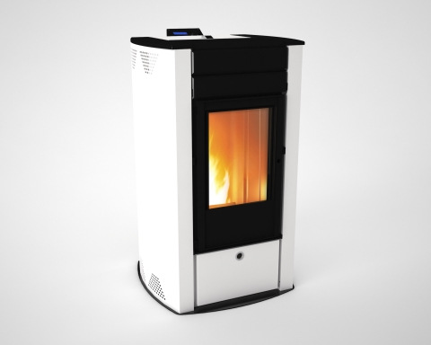 AIRSMARTPELL - HOT AIR WOOD PELLET STOVE