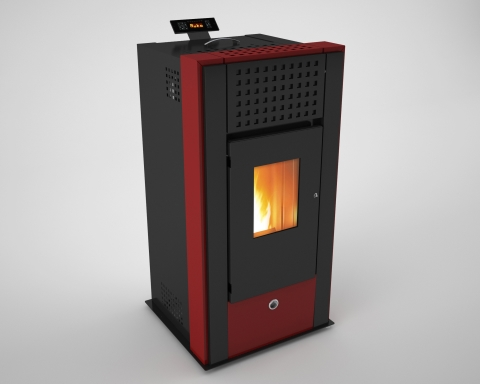 MAGNESIA - HOT AIR PELLET STOVE