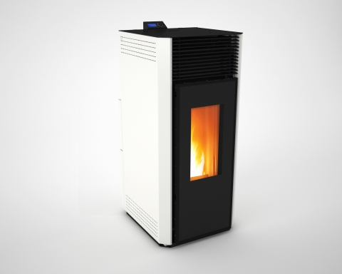 SARDES - HOT AIR PELLET STOVE